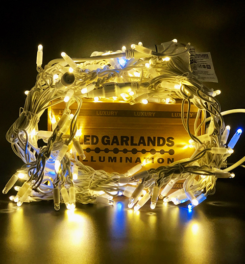 Гирлянда бахрома от LED GARLANDS ILLUMINATION
